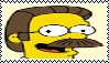 Ned Flanders Stamp by da-stamps-45212