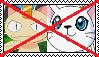 Anti MeowthXGatomon Stamp by da-stamps-45212