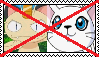 Anti MeowthXGatomon Stamp by da-stamps-45212