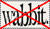 Anti Wabbit Stamp by da-stamps-45212
