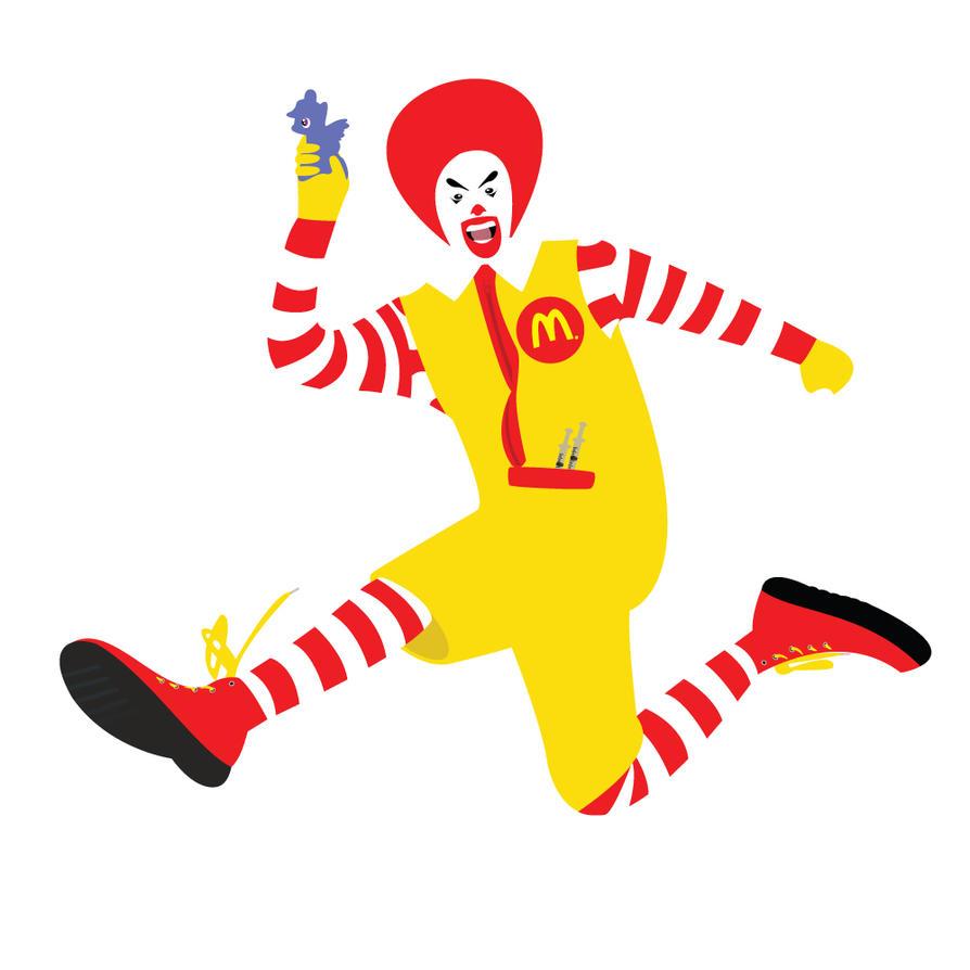 Ronald McDonald by mateeah3 on DeviantArt