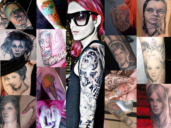 Jeffree Star Back Tattoos Jeffree star tattoos by xdyego