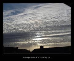 Sheepy blanket sky