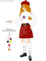 Culieann the Berry Fairy (Scottish Kilt)