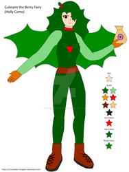 Culieann the Berry Fairy (Holly Camo)