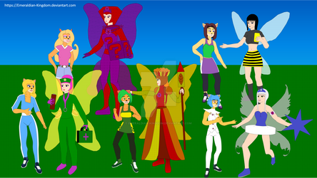 CTR Nitro Squad meets the Seasonal Fairies