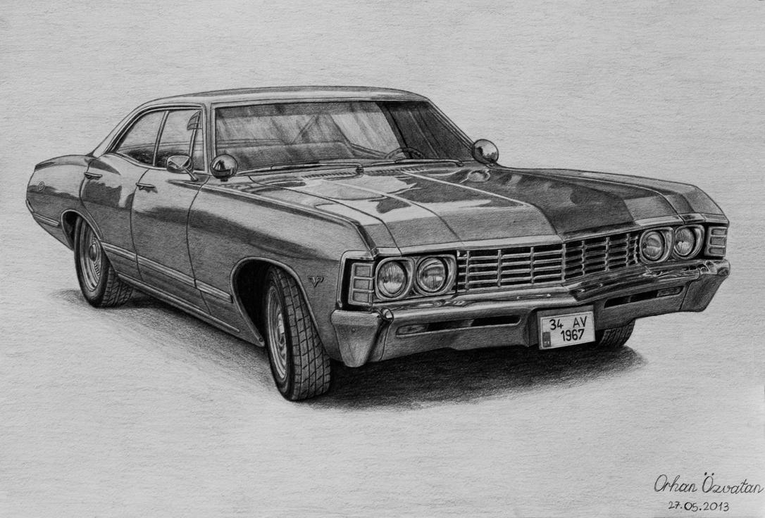 Impala 1967 black chevrolet impala : 1967 Chevrolet Impala by orhano on DeviantArt