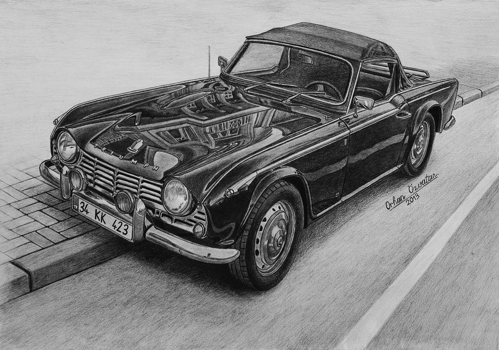 1963 Triumph TR4 by orhano
