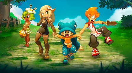Wakfu MMORPG - Yugo, Amalia, Evangelyne by jaguare19