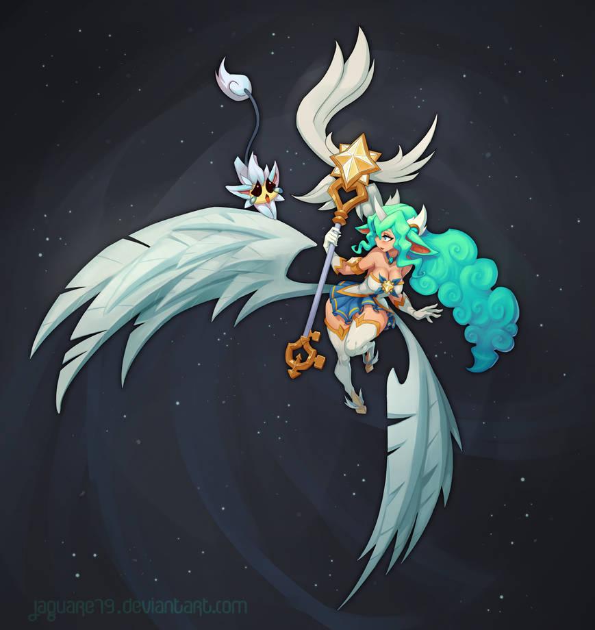 Soraka - Star Guardian by jaguare19