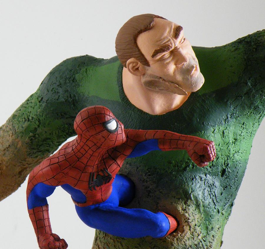 Spider-Man vs. Sandman 4 by beastgrinder on DeviantArt