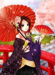 Kimono Jet Girl
