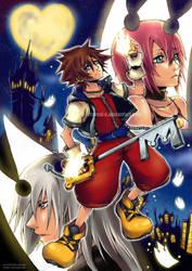 Kingdom Hearts Moon by Eternal-S