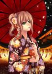 Kimono Girl Hanabi