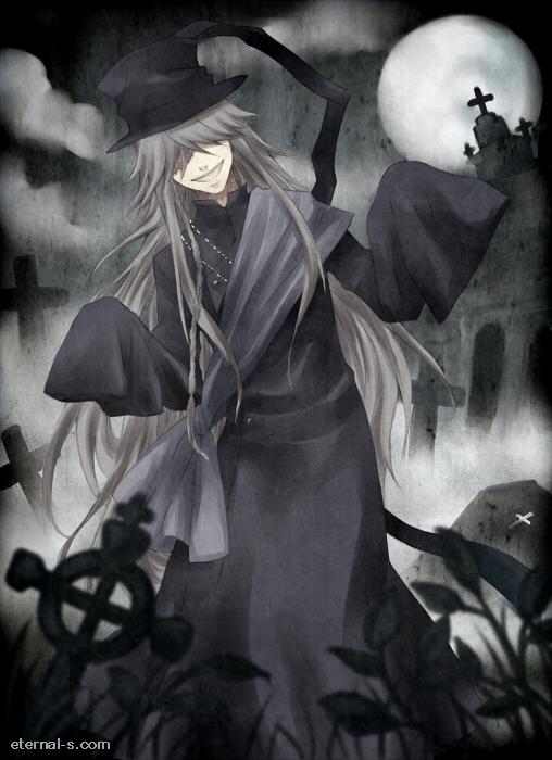 Kuroshitsuji Undertaker by Eternal-S on DeviantArt  Kuroshitsuji Un...
