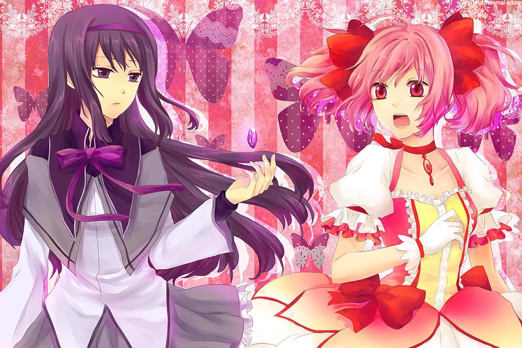 Akemi and Madoka by Eternal-S