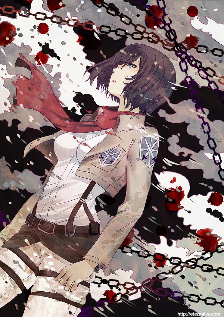 Shingeki no Kyoujin: Blood stains by Eternal-S