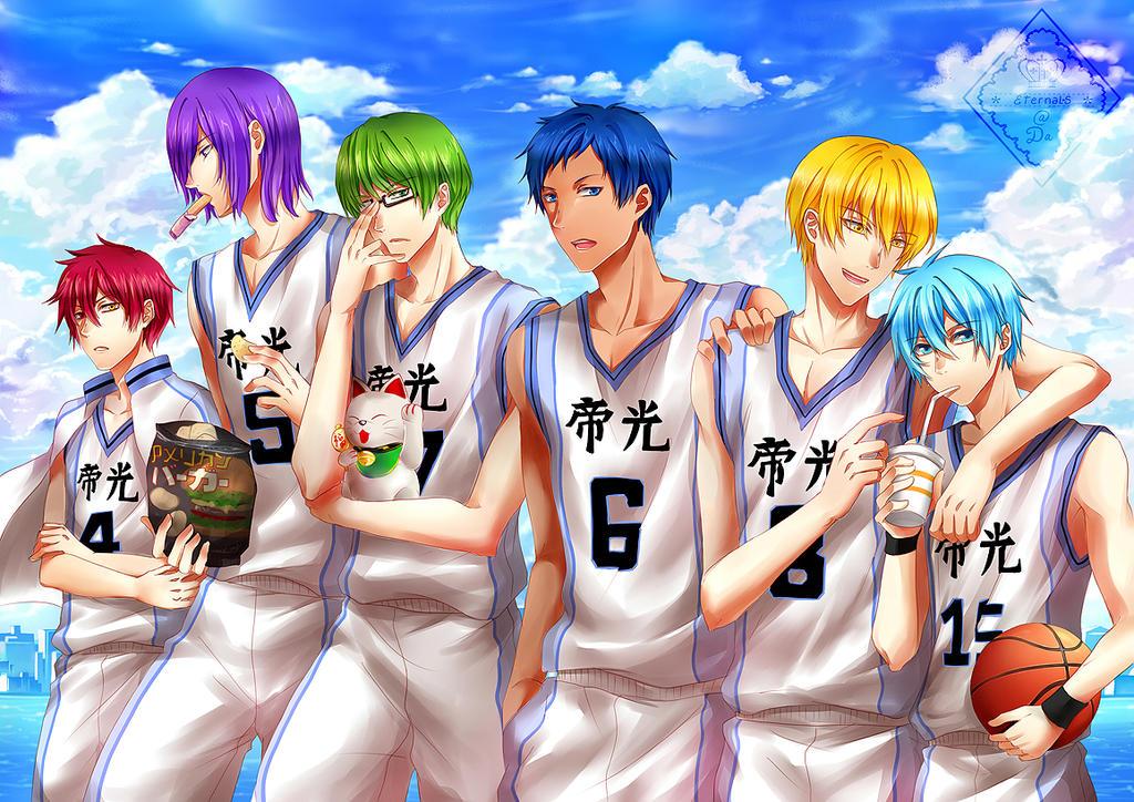 Kuroko no basket : old days by Eternal-S