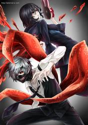 Tokyo Ghoul : Ghoul Battle by Eternal-S
