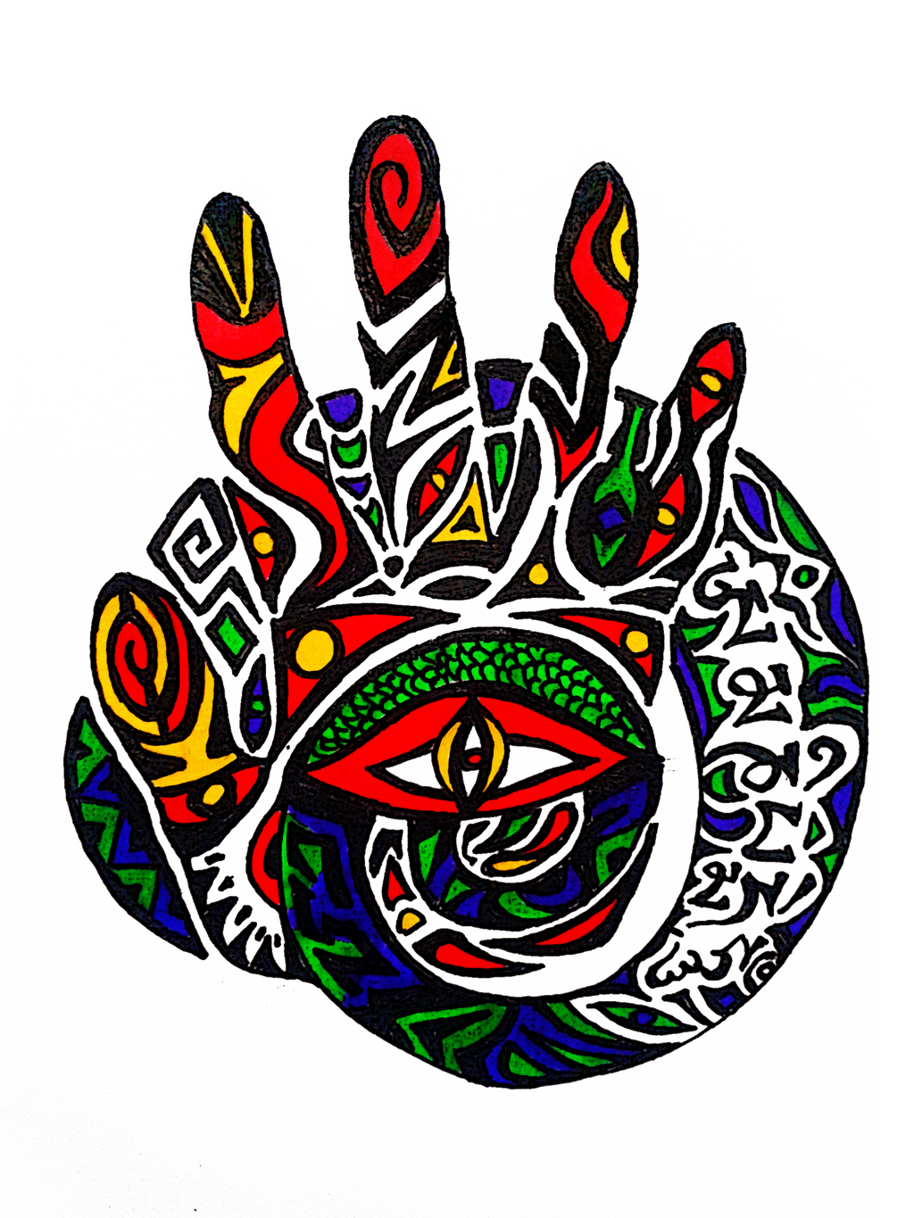 The All Seeing Eye By J Ham Art