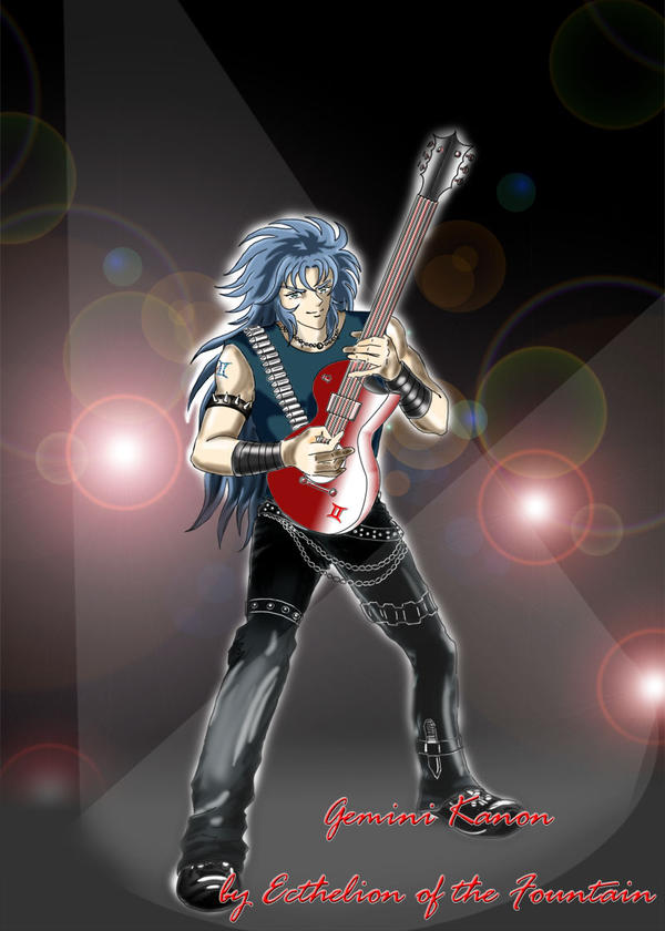 Gemini Kanon: Rock Star by EcthelionF
