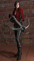 Resident Evil 6 Ada Wong Render
