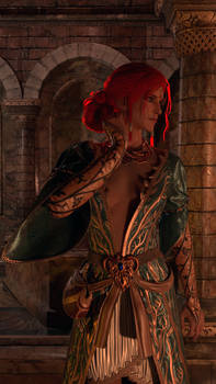 Triss Merigold DLC Outfit Cycles Render