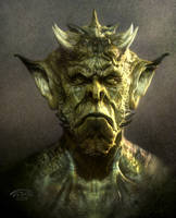 Orc Boy by TARGETE