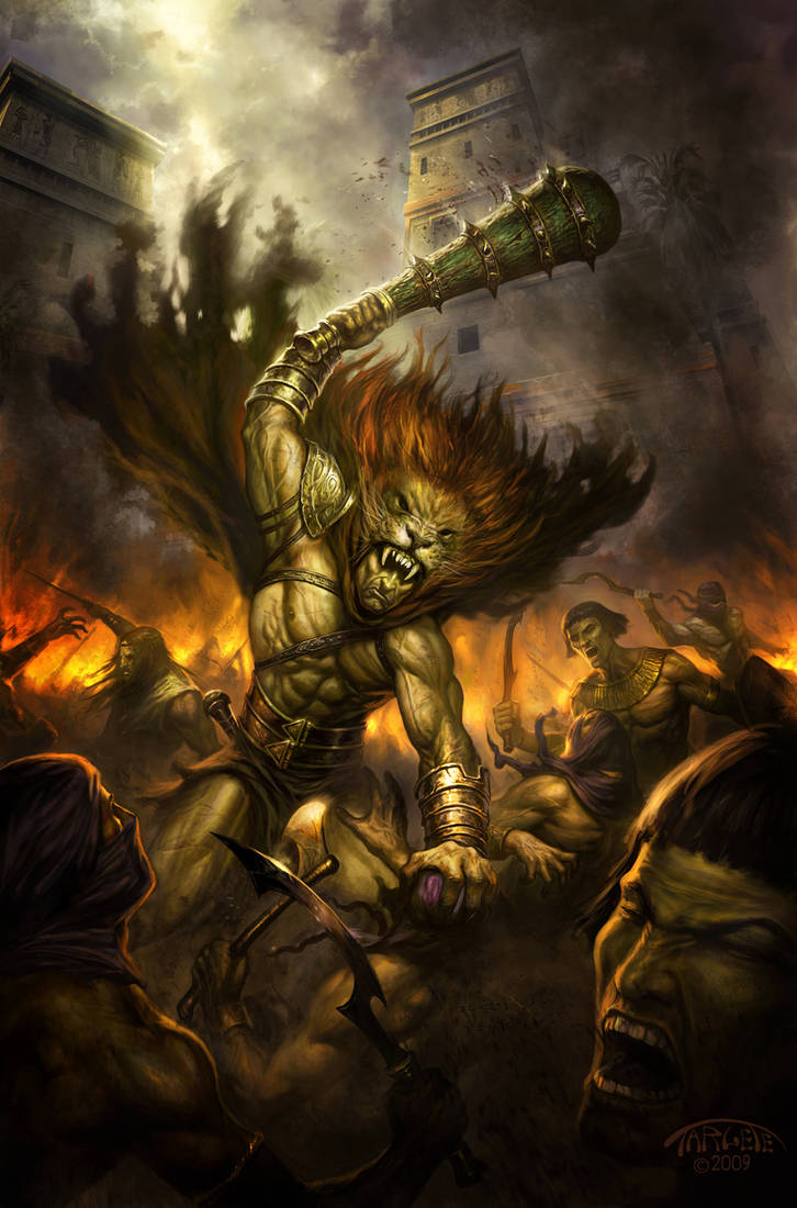 Hercules the Knives of Kush 4 by TARGETE