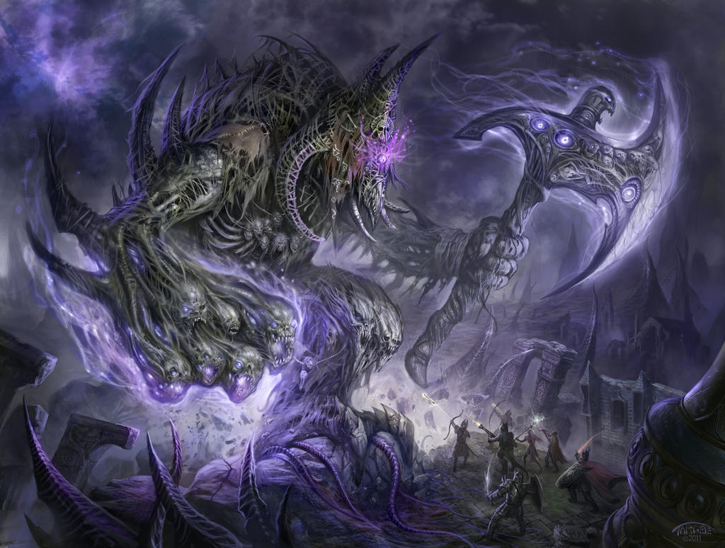 Izabull Death Colossus by TARGETE