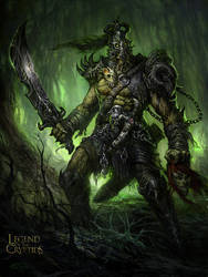 Legends of the Cryptids Art- Targete by TARGETE