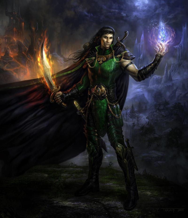 Aradune the War Wizard by TARGETE