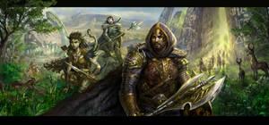 Pantheon Rise of the Fallen Website splash page