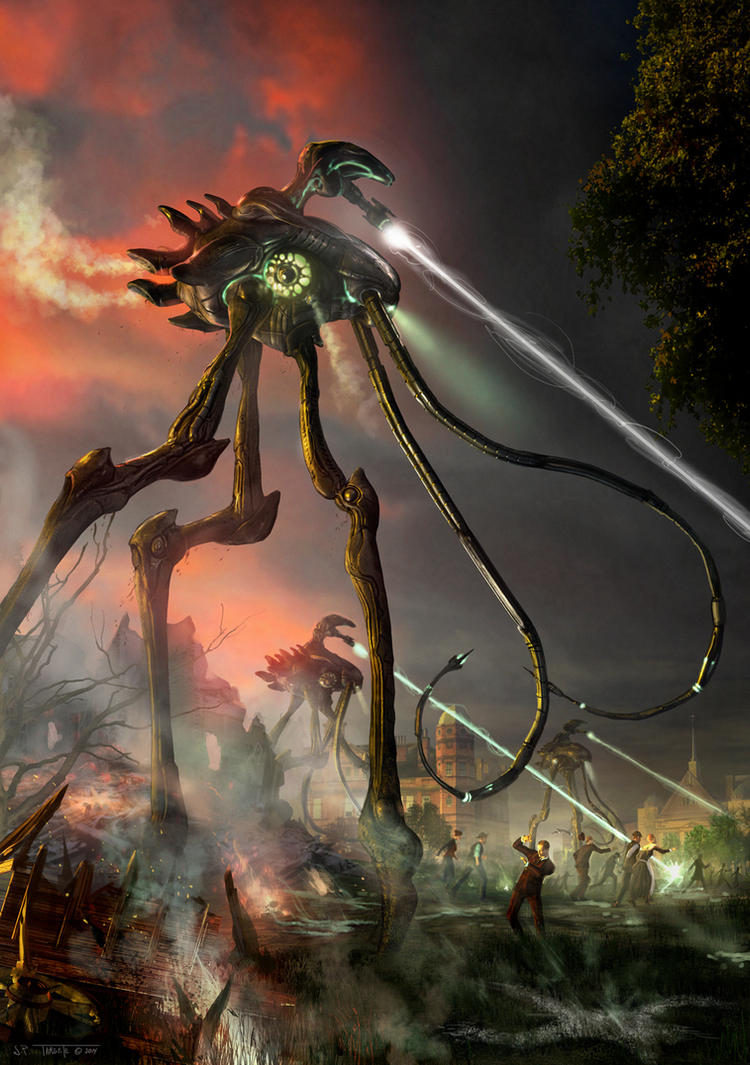 the martian invasion in the novel war of the worlds by hg wells  are now iconic symbols of alien invasion, thanks to hg wells' influential  science fiction novel, the war of the worlds but when his story was.