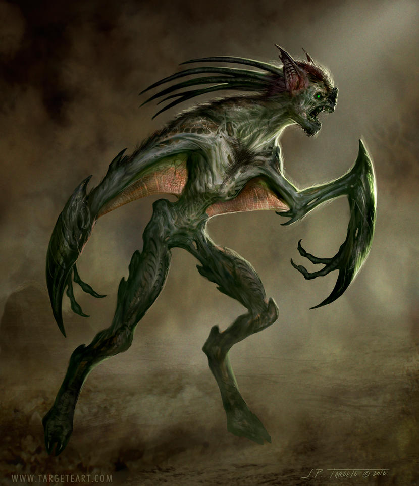 Bat Creature by TARGETE