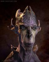 Alien Politician by TARGETE