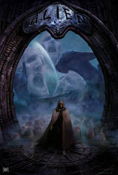 Alien Covenant Poster 00 JP Targete by TARGETE