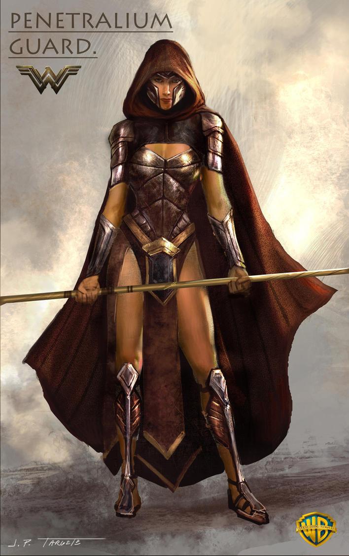 Wonder Woman movie - Penetralium Guards by TARGETE