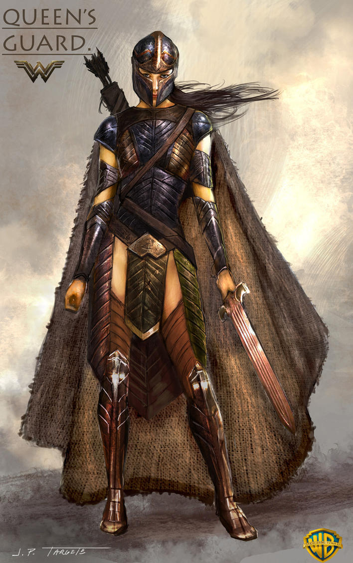 Wonder Woman movie - Queens Guard by TARGETE