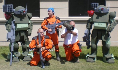 VOTOMS, ANIME NORTH 2010 by VEXXER