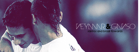 Neymar e Ganso by madeinjungle