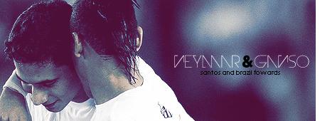 Neymar e Ganso by madeinjungle