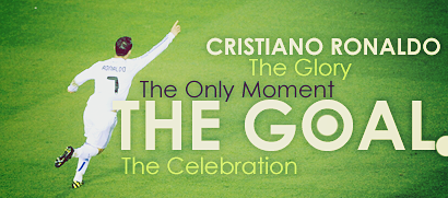 CR7 'The Goal' by madeinjungle