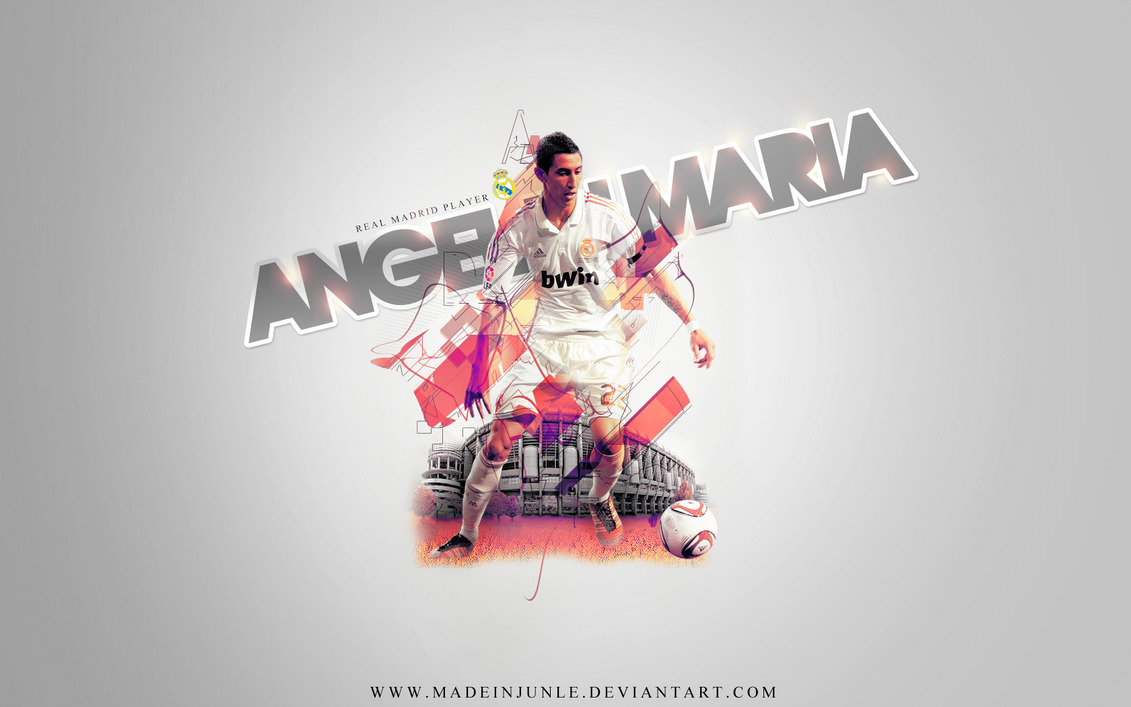 Angel Di Maria by madeinjungle