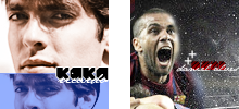 KAKA and DANI ALVES ICONS by madeinjungle