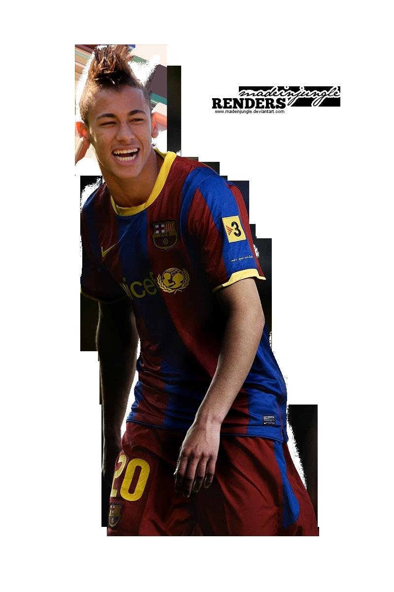 Neymar in barca render by madeinjungle on deviantart - Render barcelona ...