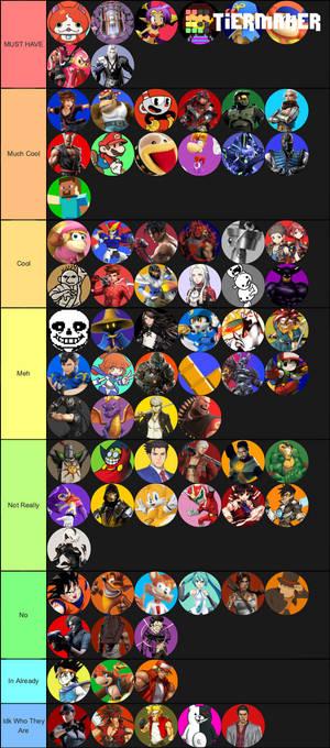 Smash DLC Tier List