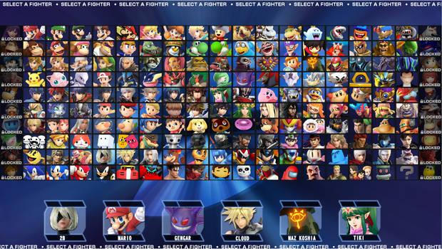 Smash Fan Roster