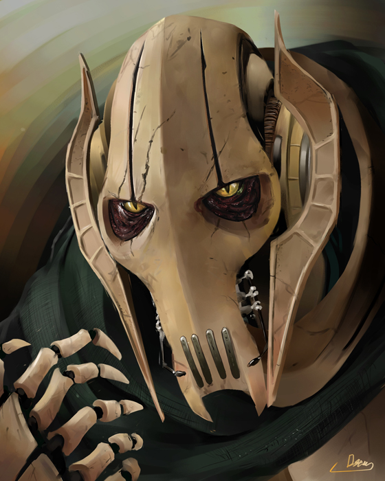 General Grievous Wallpaper: We Are Not Droids! *The Official General
