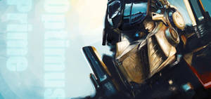 Optimus Prime Speed painting